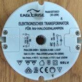 Трансформатор круглый EAGLERISE EET105CV 35-105W (Electronic transformer round)