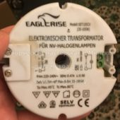 Трансформатор круглый EAGLERISE SET105CV 35-105W (Electronic transformer round)
