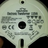 Трансформатор круглый EAGLERISE SET110CS 35-110W (Electronic transformer round)