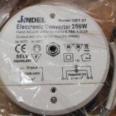 Трансформатор круглый JINDEL GET-27 50-200W (Electronic converter round)