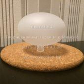 Плафон грибок G4 (матовый) 100x70 мм
