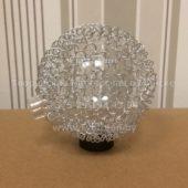 Плафон шарик G4 (металлическая сетка сверху) Диаметр 80 мм