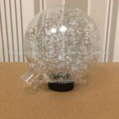 Плафон шарик G4 (металлическая сетка внутри) Диаметр 80 мм