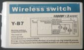 Блок управления Y-B7 (Wireless switch)