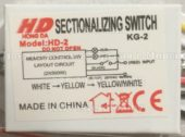 Блок управления HONG DA HD-2 KG-2 (Sectionalizing switch)