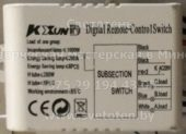 Блок управления KE XUN DA (Digital remote-control switch)