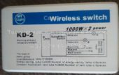 Блок управления MY LIGHT KD-2 (Wireless switch)