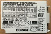 ЭПРА OSRAM QTP-M 26-42W (Electronic ballast)