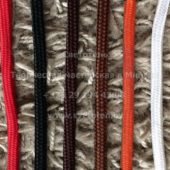 Дизайнерские цветные провода в тканевой оплетке
