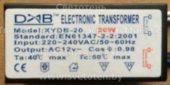 Трансформатор DAB XYDB-20 20W 01 (Electronic transformer)