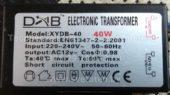 Трансформатор DAB XYDB-40 40W (Electronic transformer)