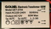 Трансформатор GOLDEL GET-0704 60W 01 (Electronic transformer)