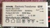 Трансформатор GOLDEL GET-0704 60W 02 (Electronic transformer)