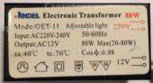 Трансформатор JINDEL GET-11 20-80W (Electronic transformer)