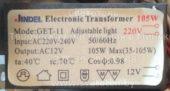 Трансформатор JINDEL GET-11 35-105W (Electronic transformer)