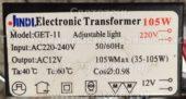 Трансформатор JINDL GET-11 35-105W (Electronic transformer)