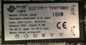 Трансформатор PROFIT LIGHT XYDB-160 160W 02 (Electronic transformer)