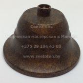Потолочная чашка для люстры (балдахин) металлическая (медь) (90×50 мм)
