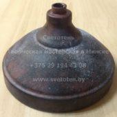 Потолочная чашка для люстры (балдахин) металлическая (медь) (128×70 мм)