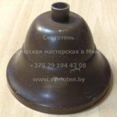 Потолочная чашка для люстры (балдахин) металлическая (темная бронза) (90×55 мм)