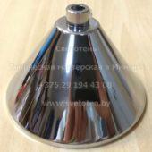 Потолочная чашка для люстры (балдахин) металлическая (хром) (100×60 мм)