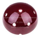 Потолочная чашка полусфера керамическая (бордовая)