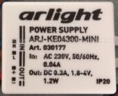 ARLIGHT ARJ-KE04300-MINI 300mA (Led power supply)
