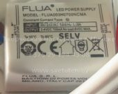 FLUA FLUA003H0700NCMA 700mA (Led power supply)