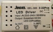 Лед драйвер JINDEL GEL-300 02-22 (Led driver)