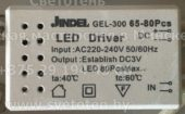 Лед драйвер JINDEL GEL-300 65-80 (Led driver)