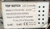 Лед контроллер TOP NOTCH LF-01A 37-50 (Led controller)