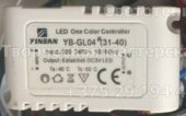Лед контроллер YINBAN YB-GL04 31-40 (Led one color controller)