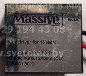MASSIVE 240mA (Led driver)