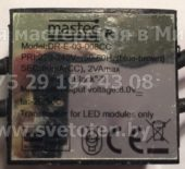 MASTEC DR-E-03-008CC 80mA (Led transformer)