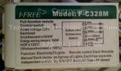 Блок управления I FREE F-C328M (Full-function remote control switch)