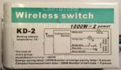 Блок управления KD-2 (Wireless switch)
