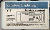 Блок управления RAINBOW LIGHTING Y-7
