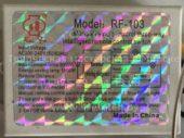 Блок управления RUI FU RF-103 (Manual remote control three-way intelligent remote control switch)