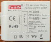 Блок управления TECHLICO TC-1A-L12 (Led wireless digital remote control switch)