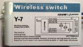 Блок управления Y-7 01 (Wireless switch)