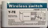 Блок управления Y-7E 01 (Wireless switch)