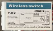 Блок управления Y-B2 (Wireless switch)