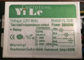Блок управления YILE YL-028