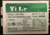 Блок управления YILE YL-038