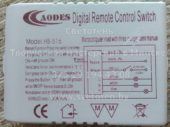 Блок управления CAODES HB-816 (Digital remote control switch)