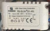 Лед контроллер YINBAN YB-GL04 31-40 (Led one color controller)